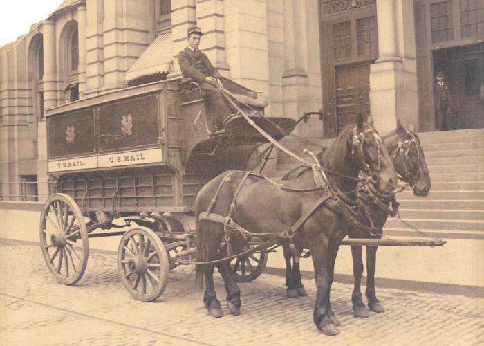 Regulation wagon, ca. 1895