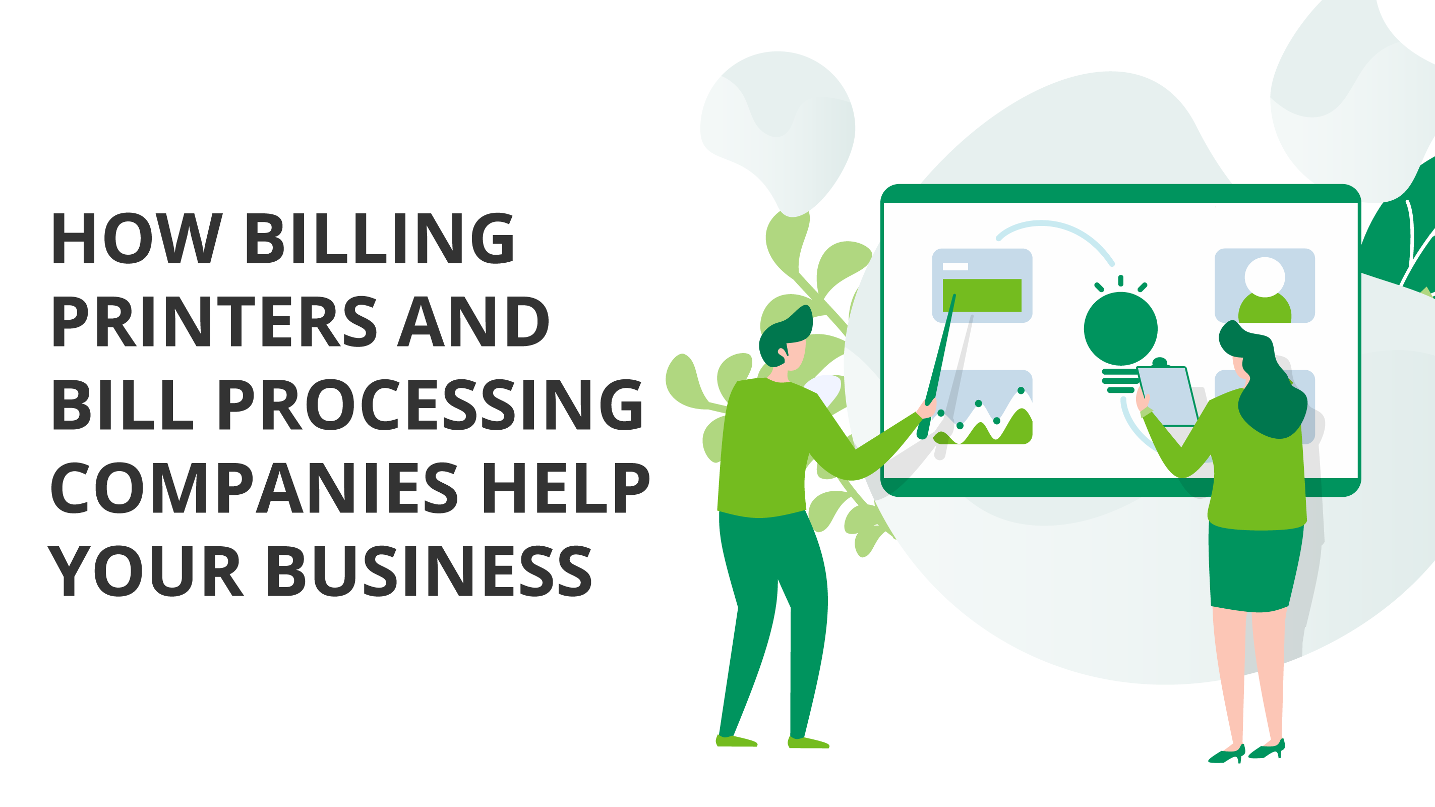 How Billing Printers and Bill Processing Companies Help Your Colorado Business Bank